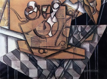 tea cups 1914 Juan Gris Oil Paintings
