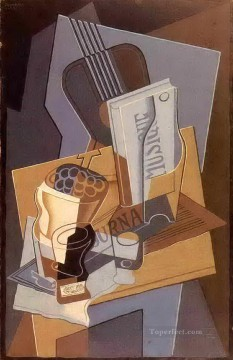 the book of music 1922 Juan Gris Oil Paintings