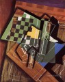 the checkerboard 1915 Juan Gris