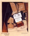 the coffee grinder 1916 Juan Gris