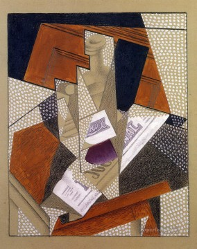 Juan Gris Painting - bottle Juan Gris