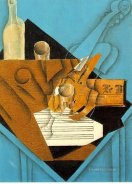 musician s table 1914 Juan Gris Oil Paintings