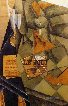 still life 1914 Juan Gris Oil Paintings