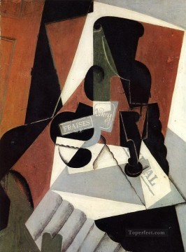 strawberry jam 1917 Juan Gris Oil Paintings