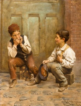 Boys Art - Shoeshine Boys Karl Witkowski