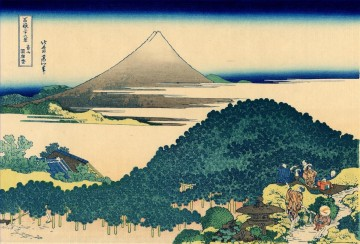 the coast of seven leages in kamakura Katsushika Hokusai Ukiyoe Oil Paintings