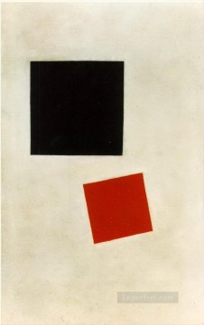 Kazimir Malevich Painting - black square and red square 1915 Kazimir Malevich