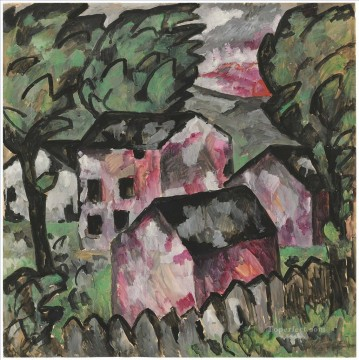 Artworks by 350 Famous Artists Painting - Landscape Kazimir Malevich