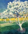 apple tree in blossom Kazimir Malevich