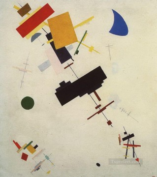 Artworks by 350 Famous Artists Painting - suprematism 1916 2 Kazimir Malevich