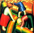 taking in the harvest 1911 Kazimir Malevich