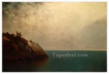 A Foggy Sky Luminism seascape John Frederick Kensett Oil Paintings