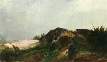 Clearing Off Luminism scenery John Frederick Kensett Oil Paintings