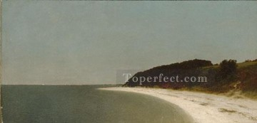 Eatons Neck Long Island Luminism seascape John Frederick Kensett Oil Paintings
