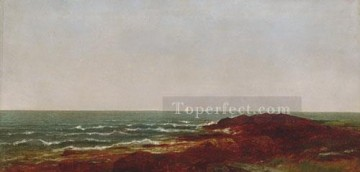 The Sea Luminism seascape John Frederick Kensett Oil Paintings