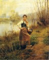 Country Girl countrywoman Daniel Ridgway Knight