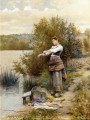 The Laundress countrywoman Daniel Ridgway Knight