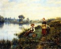 A Passing Conversation countrywoman Daniel Ridgway Knight