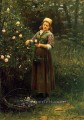 Cutting Roses countrywoman Daniel Ridgway Knight