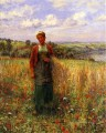 Gathering Wheat countrywoman Daniel Ridgway Knight