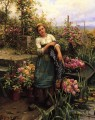 The Flower Boat countrywoman Daniel Ridgway Knight