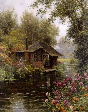 Louis Aston Knight Painting - A beaumont le roger Louis Aston Knight