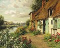 The Blue Cottage Louis Aston Knight