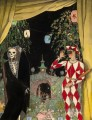 Harlequin and Death Konstantin Somov_2