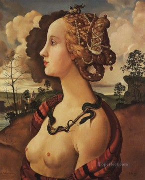 Artworks by 350 Famous Artists Painting - copy of portrait of simonetta vespucci by piero di cosimo Konstantin Somov