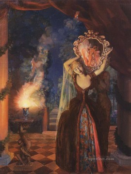 Artworks by 350 Famous Artists Painting - enchantress Konstantin Somov