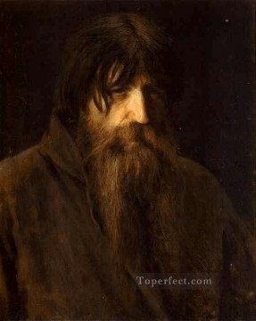 Ivan Art - Head of an Old Peasant Democratic Ivan Kramskoi