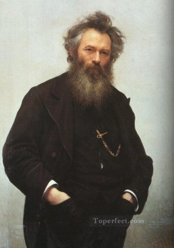 Ivan Art - Portrait of Ivan I Shishkin Democratic Ivan Kramskoi