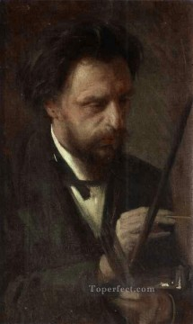 Ivan Art - Portrait of the Artist Grigory Myasoyedov Democratic Ivan Kramskoi