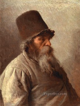 Ivan Art - Village Elder Democratic Ivan Kramskoi