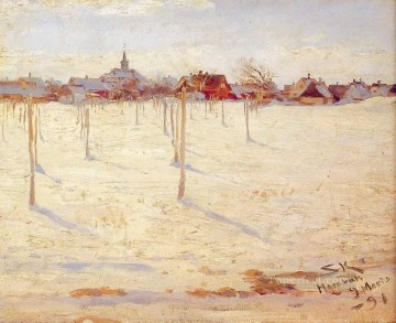 KR Works - Hornbaek en invierno 1891 Peder Severin Kroyer