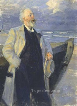 1895 Oil Painting - Holger Drachman 1895 Peder Severin Kroyer