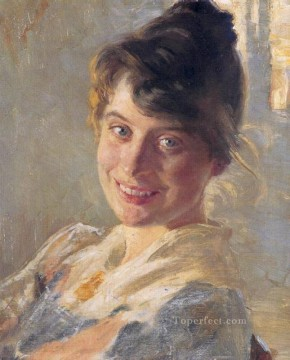 Peder Severin Kroyer Painting - Marie Kroyer 1890 Peder Severin Kroyer