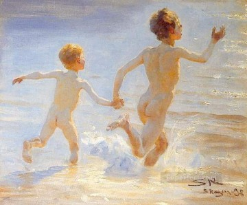 KR Works - Playa de Skagen 1892 Peder Severin Kroyer