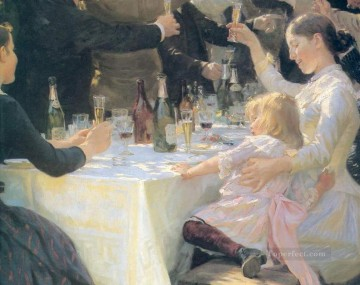 KR Works - Hip hip hurra 1888 Peder Severin Kroyer