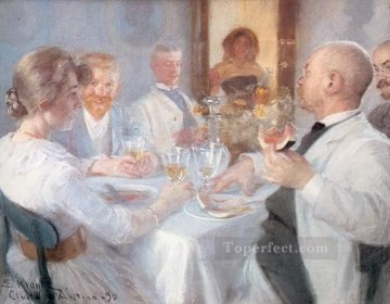 KR Works - Comida en Antino Peder Severin Kroyer