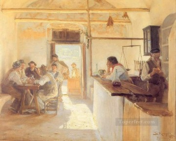 Taberna en Ravello 1890 Peder Severin Kroyer Decor Art