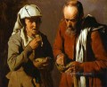 The Porridge Eaters ABC candlelight Georges de La Tour