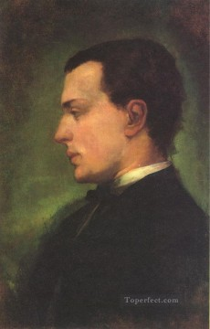 John LaFarge Painting - Portrait of Henry James John LaFarge