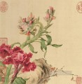Lang shining birds and flowers old China ink Giuseppe Castiglione