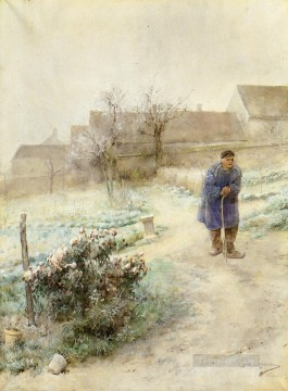 Carl Art Painting - November Carl Larsson