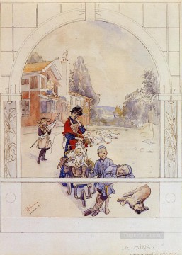 Love Painting - My Loved Ones Carl Larsson