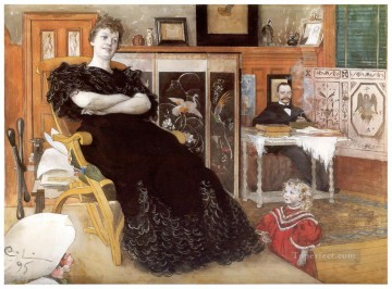Carl Larsson Painting - anna pettersson Carl Larsson