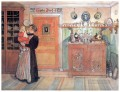 between christmas and new a o 1896 Carl Larsson