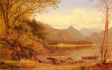 Derwentwater Benjamin Williams Leader Oil Paintings