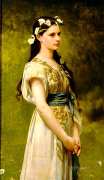 Jules Art Painting - Portrait of Julia Foster Ward Jules Joseph Lefebvre
